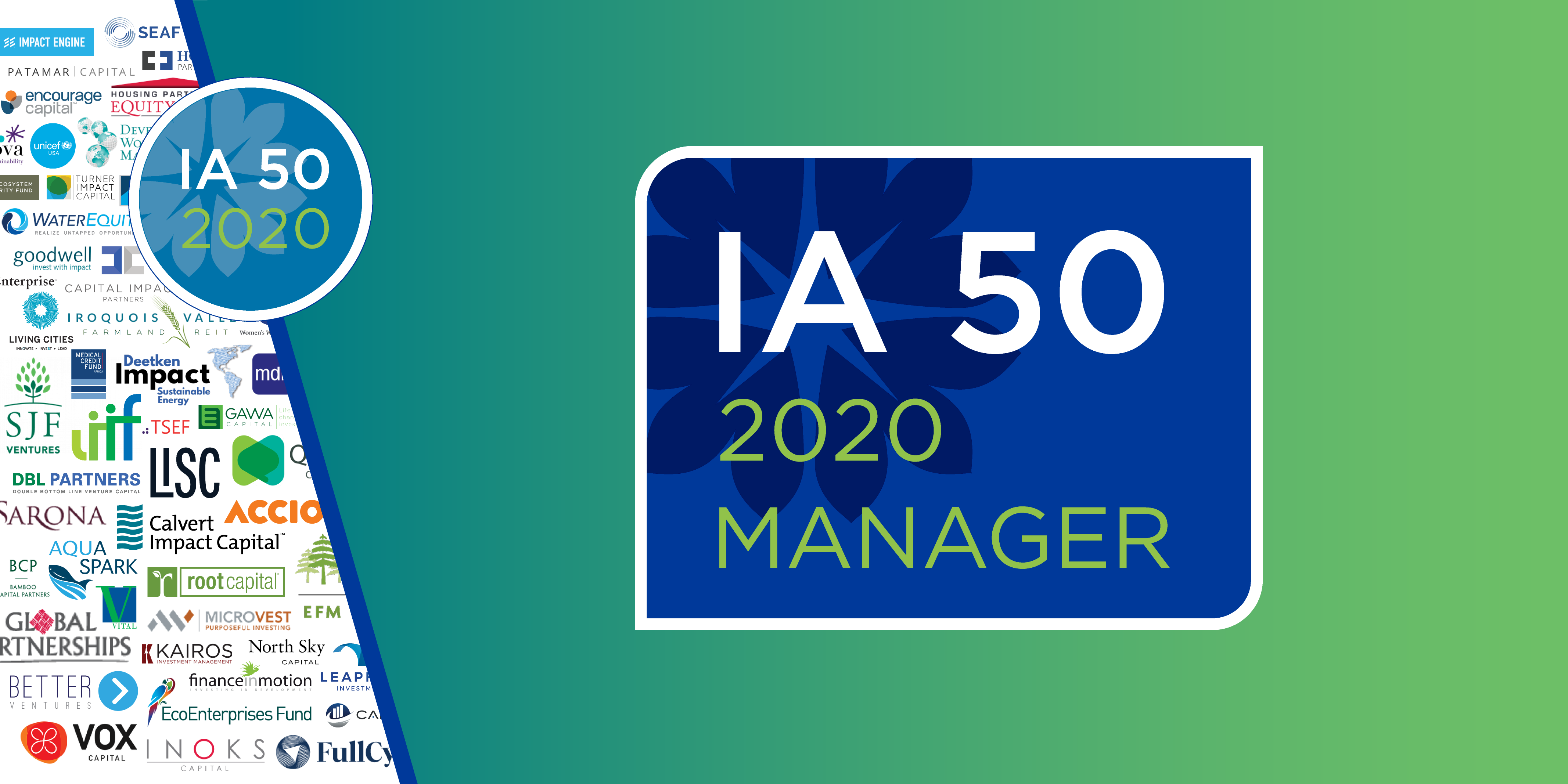 WaterEquity Selected to ImpactAssets 50 2020