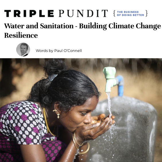 Water and Sanitation – Building Climate Change Resilience